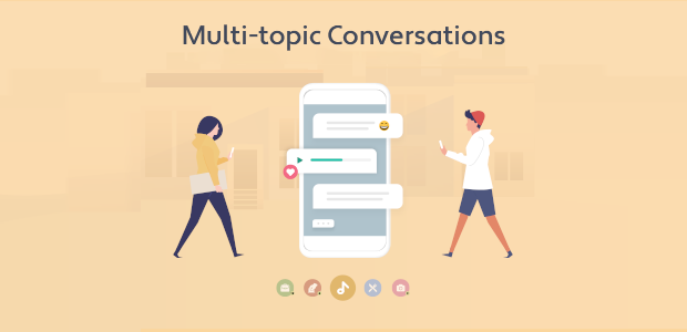 Introducing Multi-topic Conversations